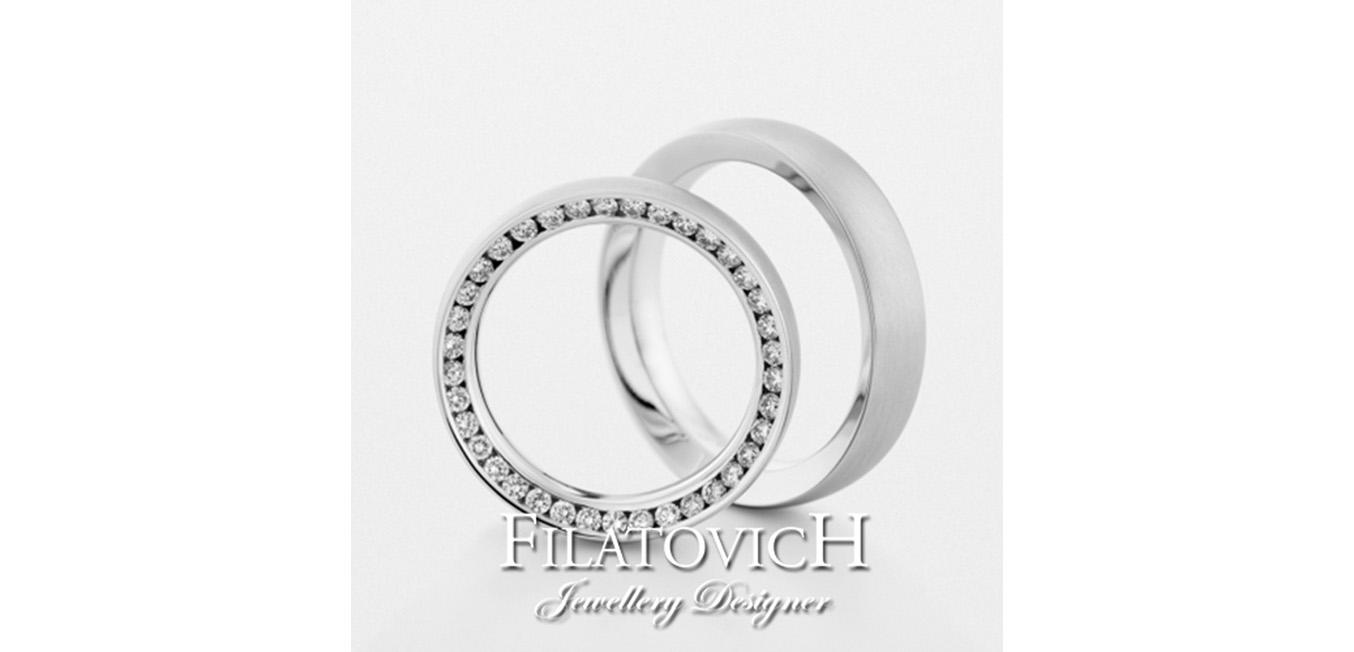 Обручальные кольца WRB-102