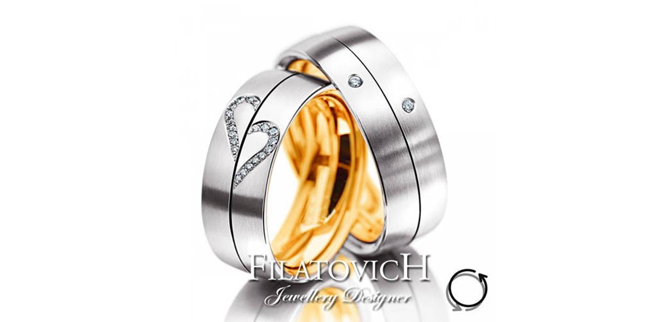 Обручальные кольца WRB-274