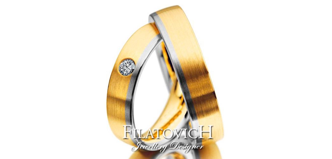 Обручальные кольца WRB-350