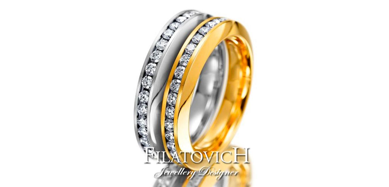 Обручальное кольцо WRB-323
