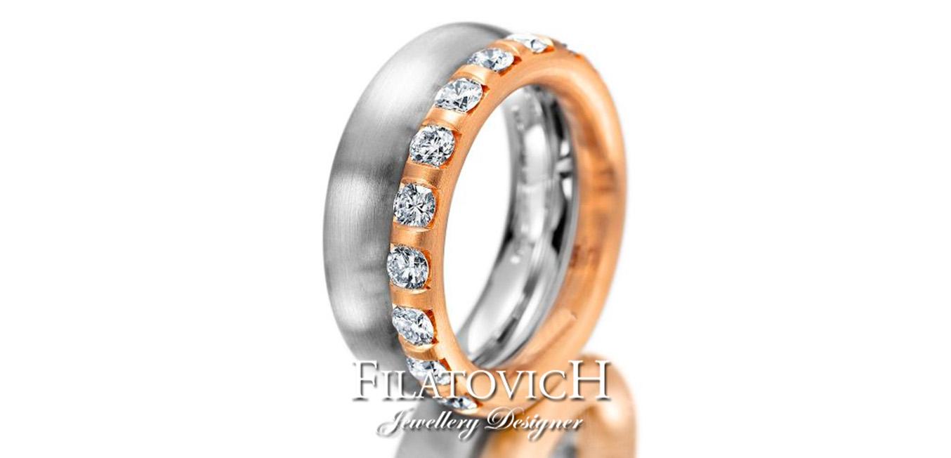 Обручальное кольцо WRB-324