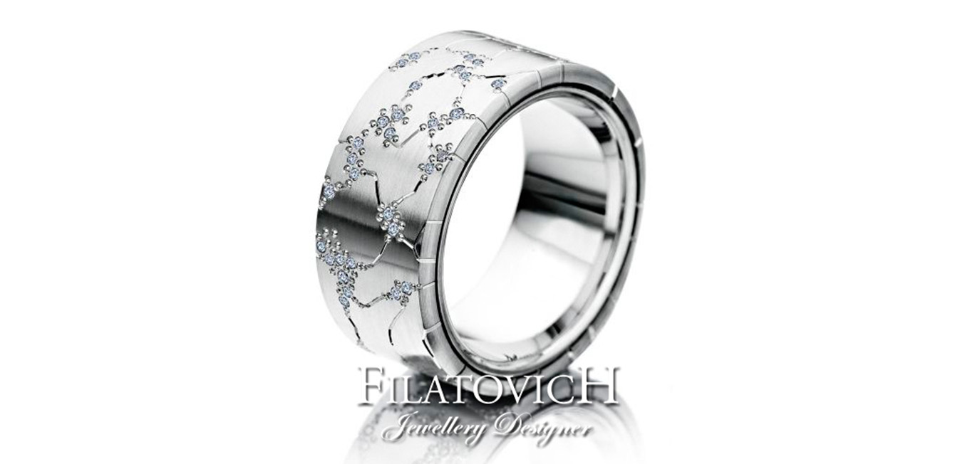 Обручальное кольцо WRB-319
