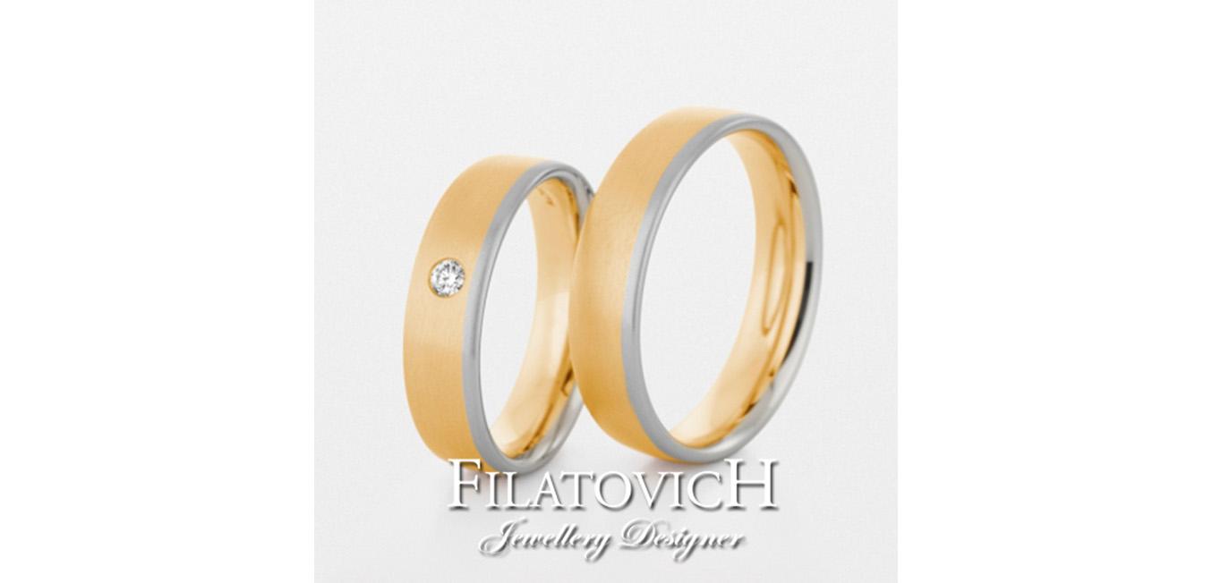 Обручальные кольца WRB-028