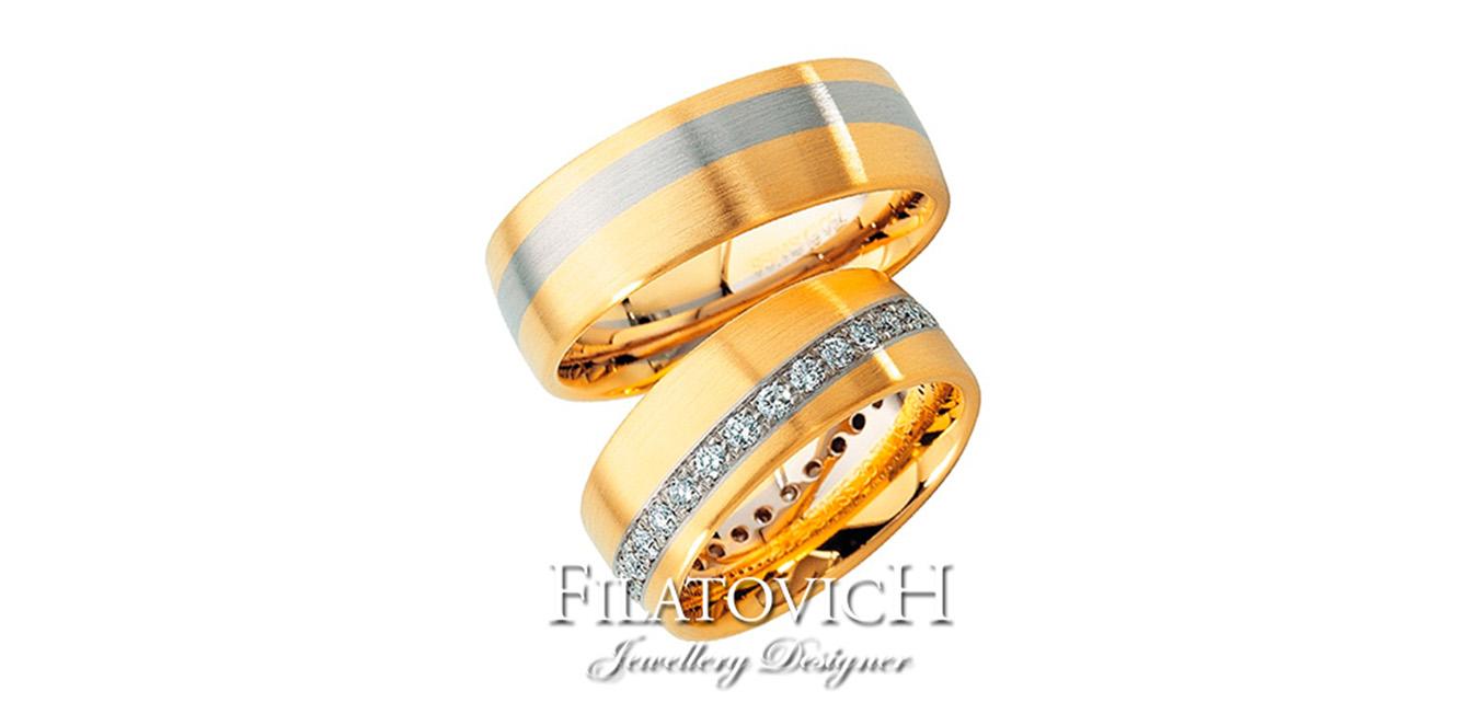 Обручальные кольца WRB-244