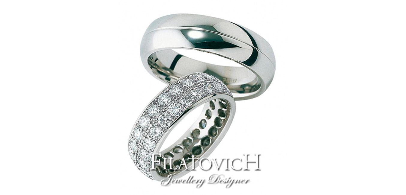 Обручальные кольца WRB-242