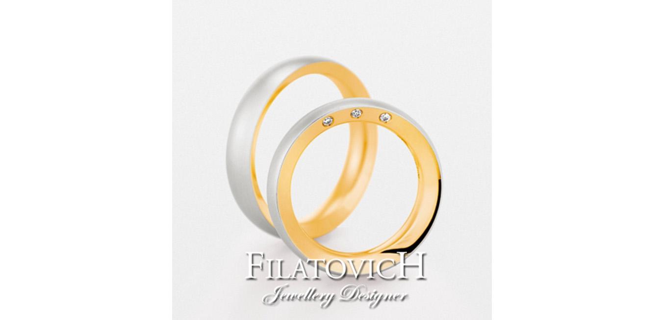Обручальные кольца WRB-043