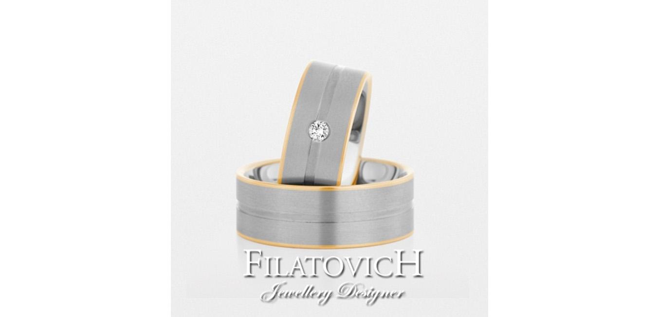 Обручальные кольца WRB-048