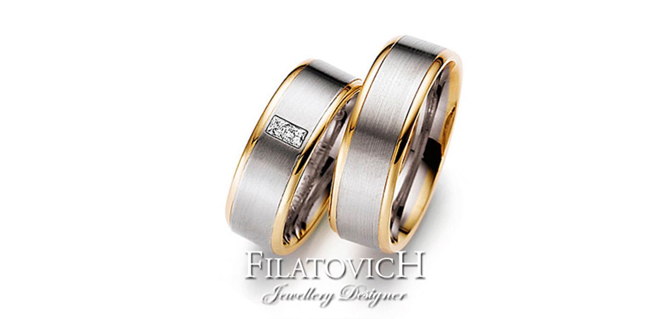 Обручальные кольца WRB-170