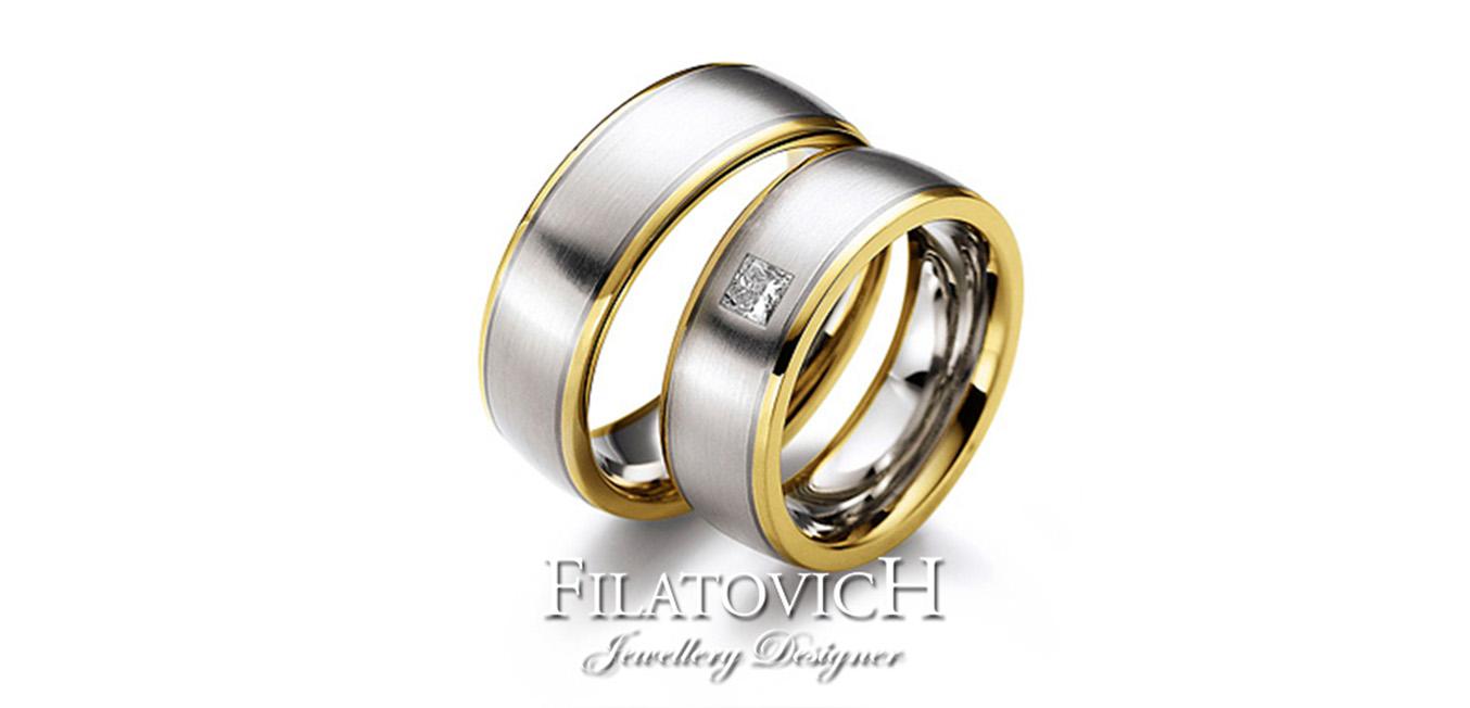 Обручальные кольца WRB-169