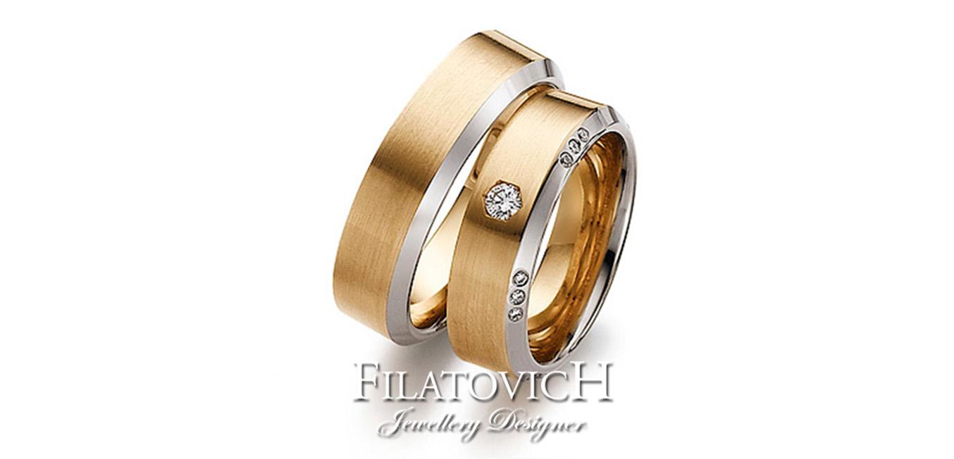 Обручальные кольца WRB-166