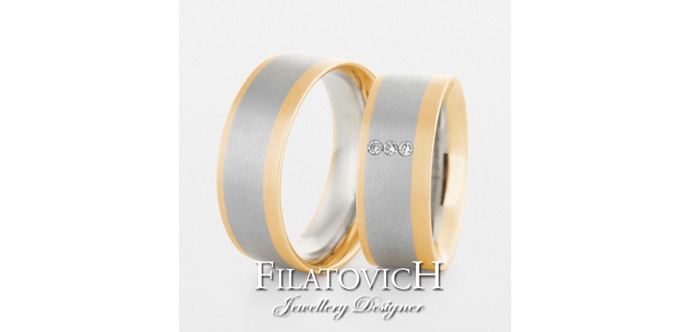 Обручальные кольца WRB-062