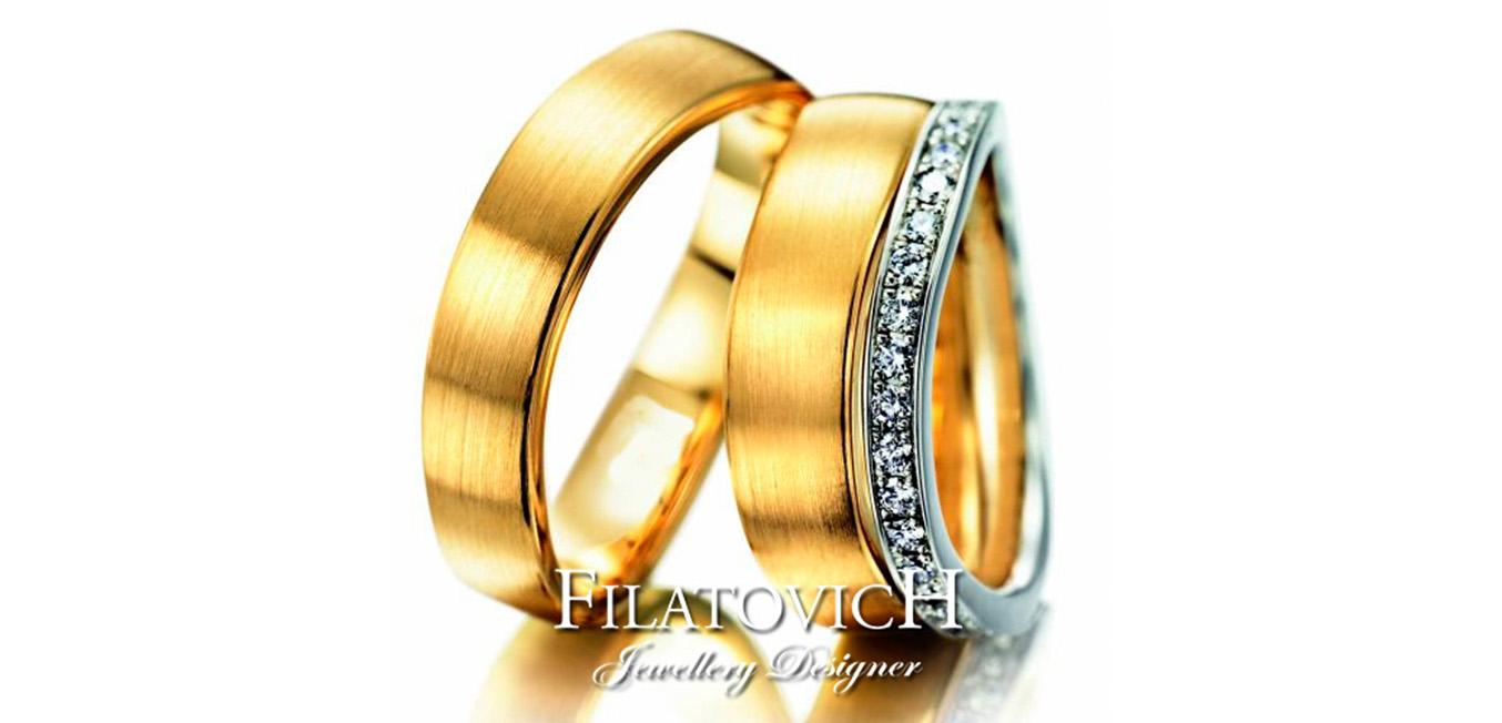 Обручальные кольца WRB-296