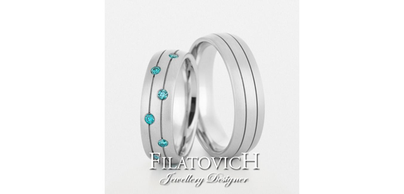Обручальные кольца WRB-068