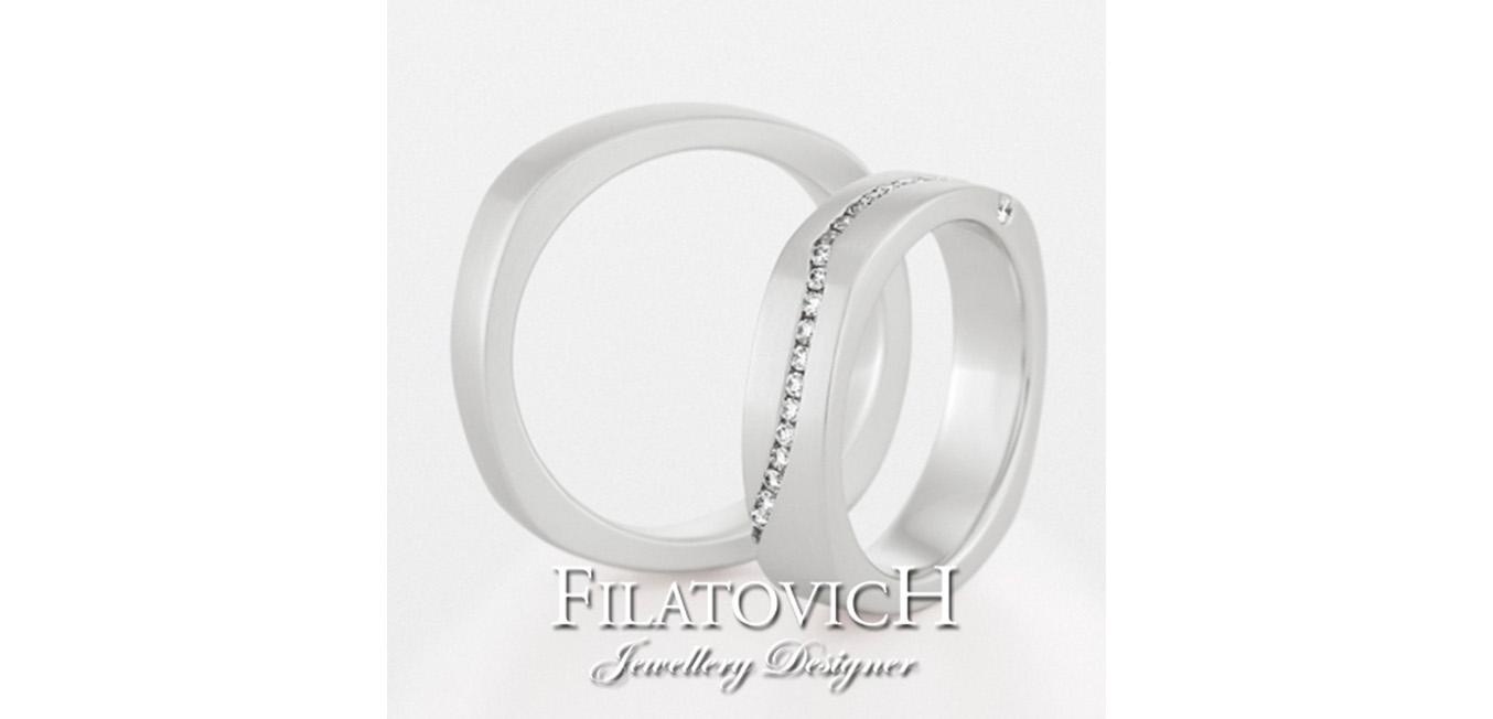 Обручальные кольца WRB-075