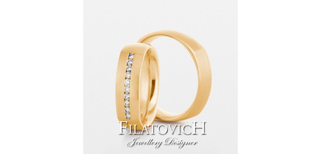 Обручальные кольца WRB-083