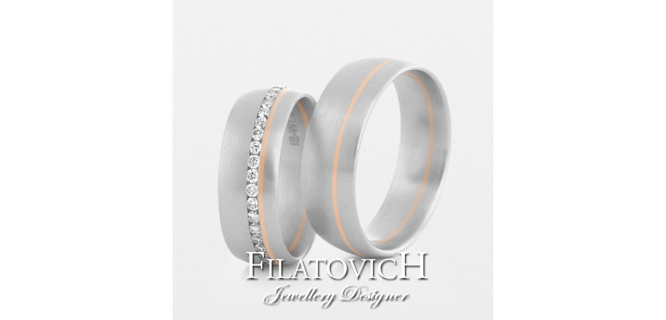 Обручальные кольца WRB-084