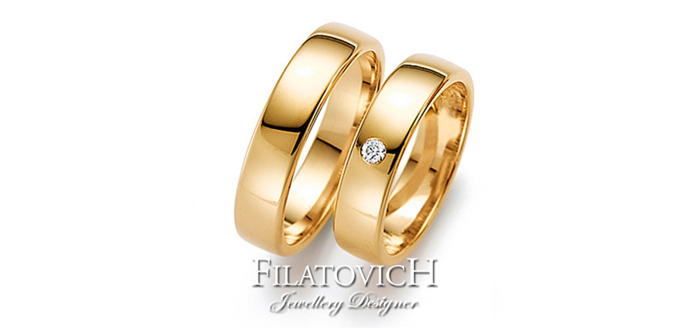 Обручальные кольца WRB-140