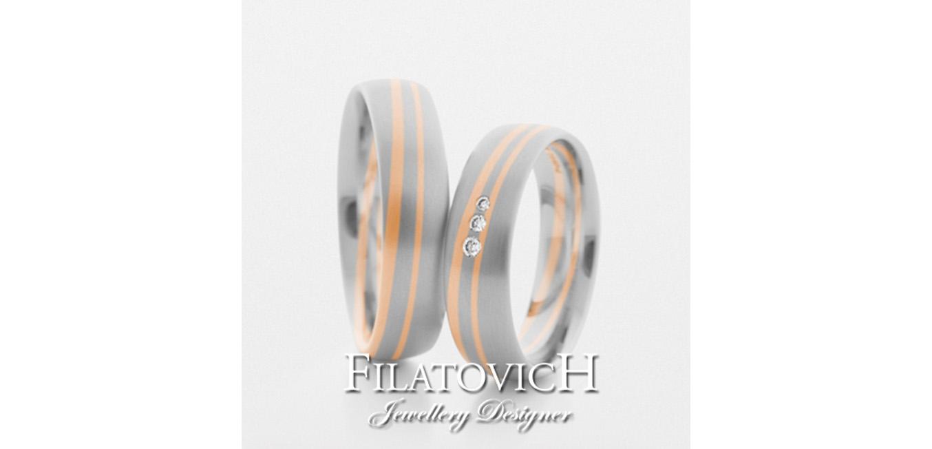 Обручальные кольца WRB-097