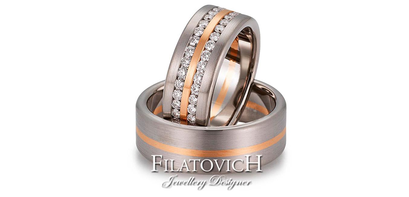 Обручальные кольца WRB-205