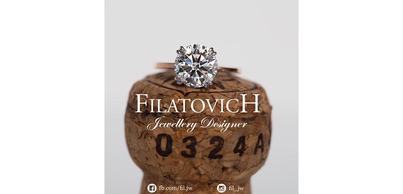 Кольцо с бриллиантом JRP-001