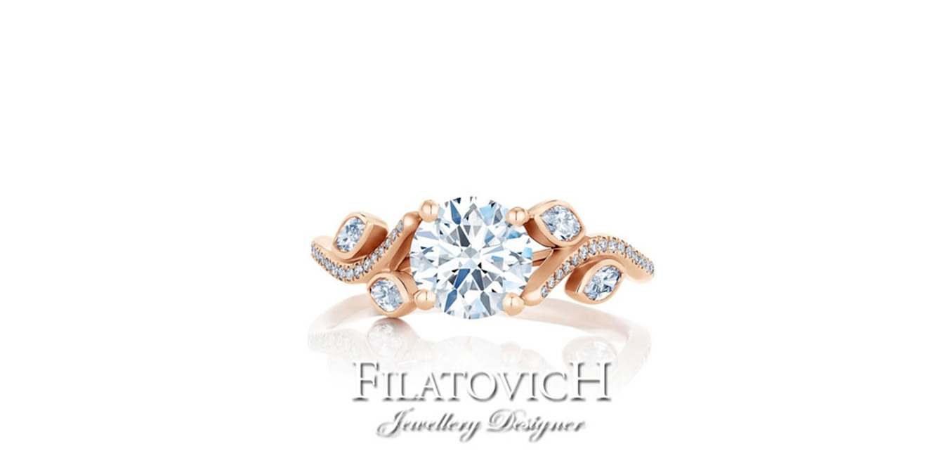 Кольцо бриллиантами RDB-063