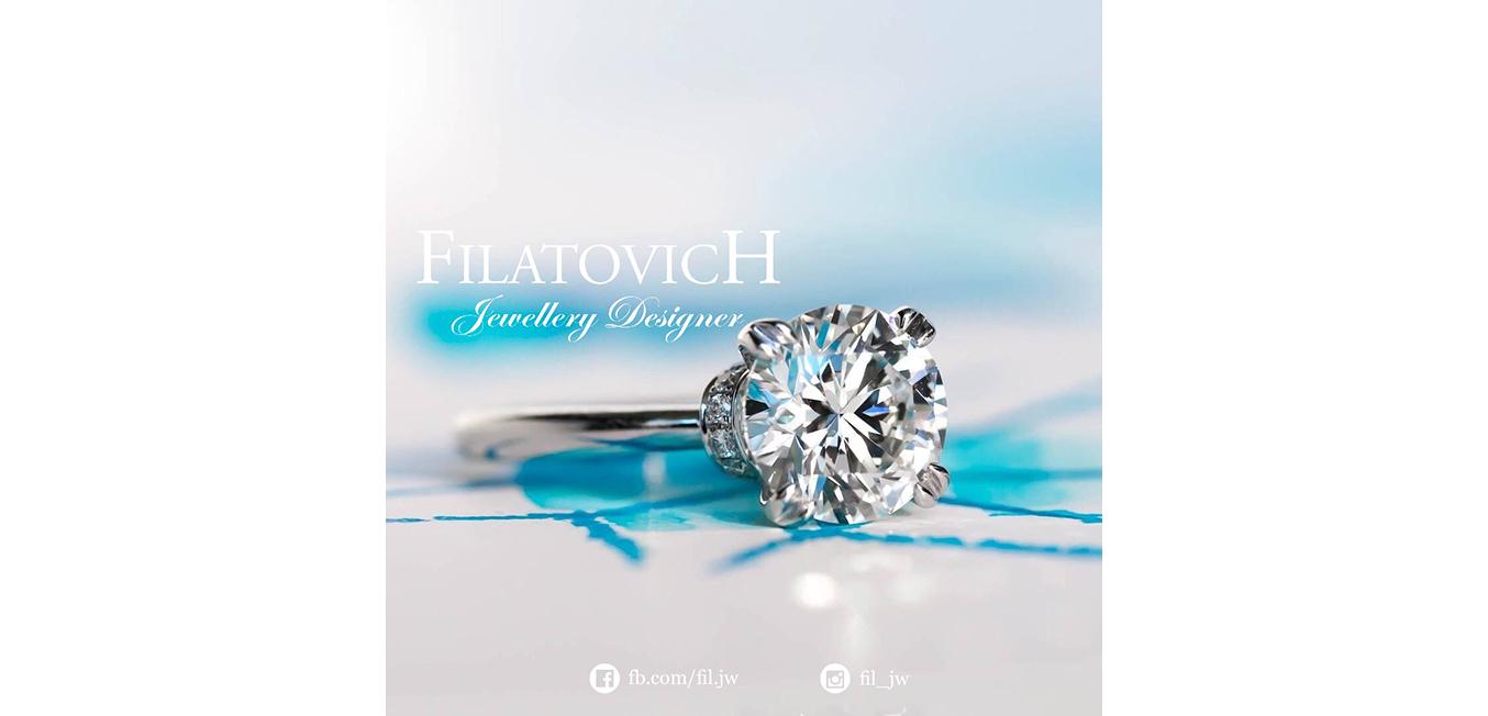 Кольцо с бриллиантами JRP-015