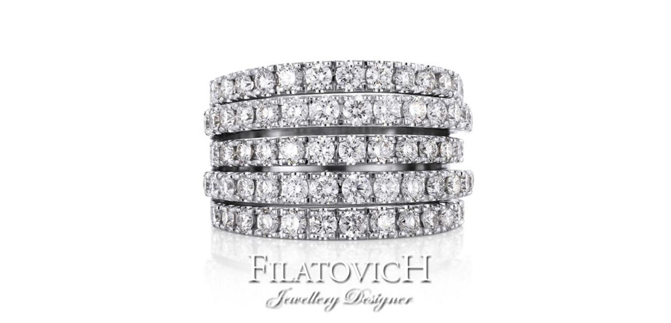 Кольцо с бриллиантами RDB-145