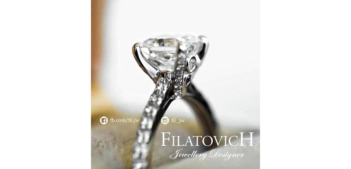 Кольцо с бриллиантами JRP-031