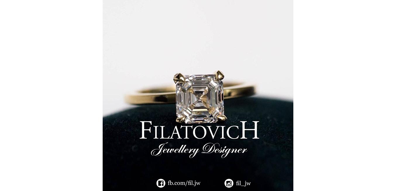 Кольцо с бриллиантом JRP-033