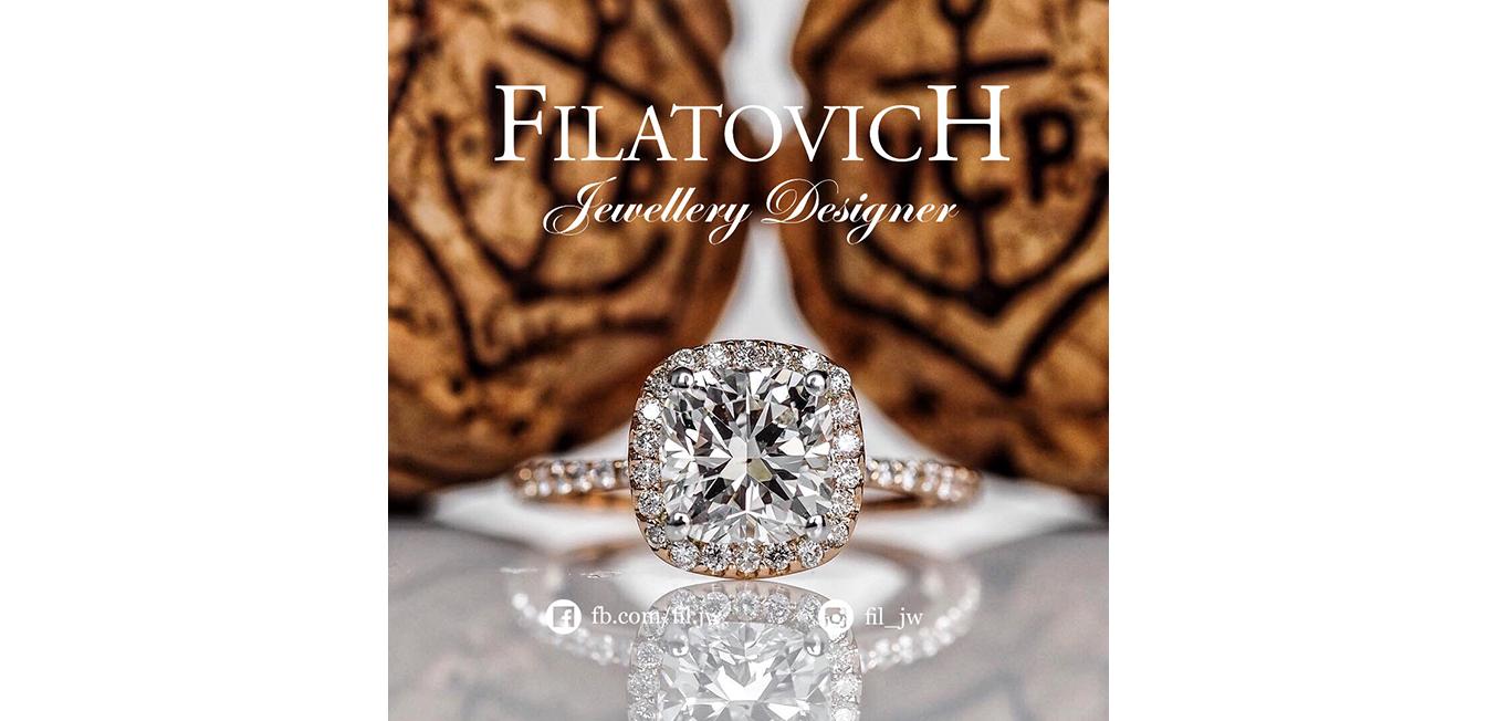 Кольцо с бриллиантами JRP-036