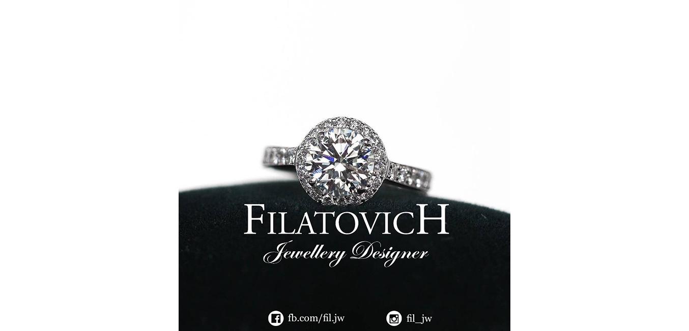 Кольцо с бриллиантами JRP-043